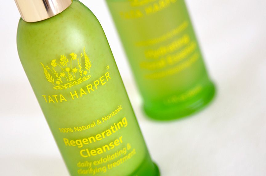 tata harper regenerating cleanser, tata harper hydrating floral essence