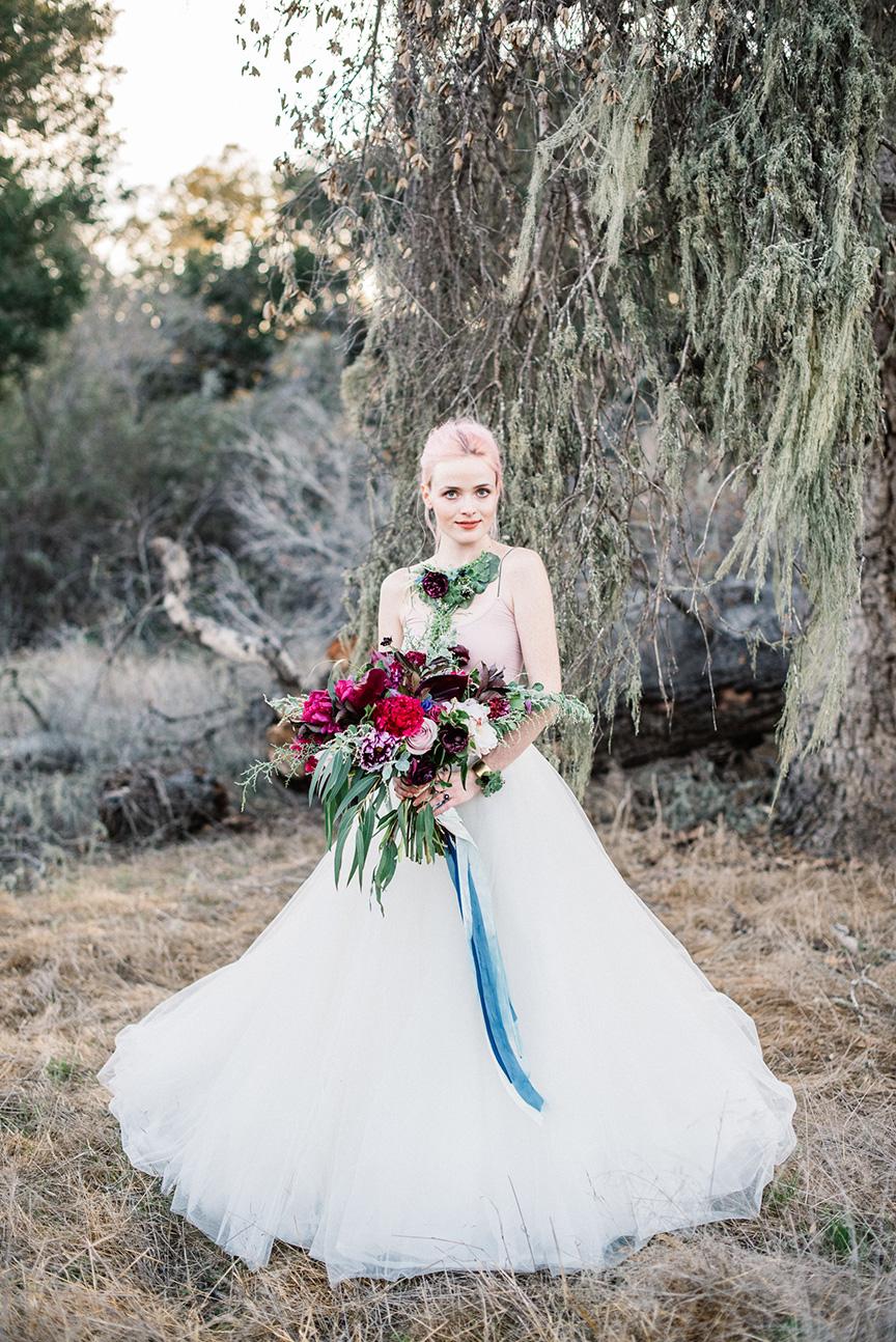 rustic bride bouquet