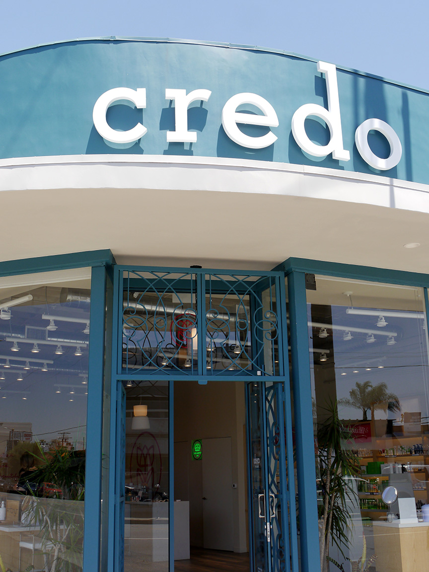 credo's beauty bar