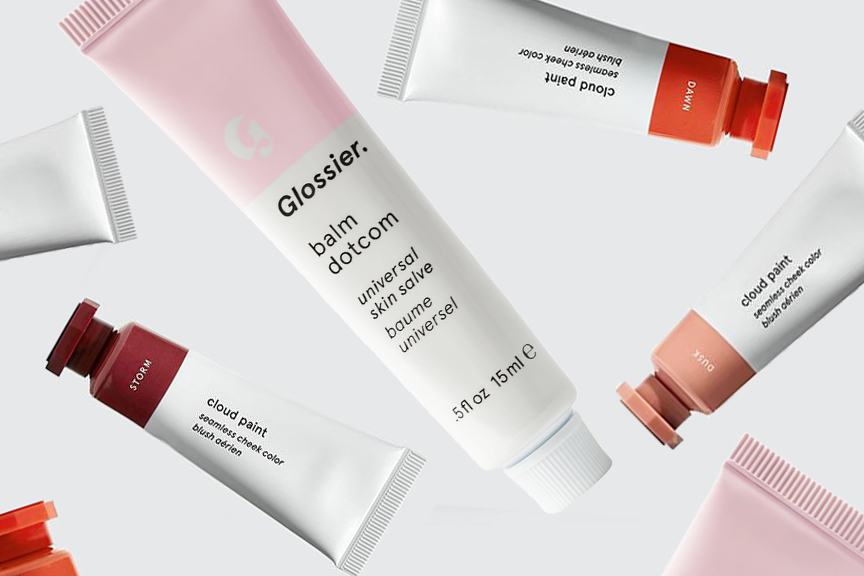 glossier cloud paint and balm dot com beauty products for teens