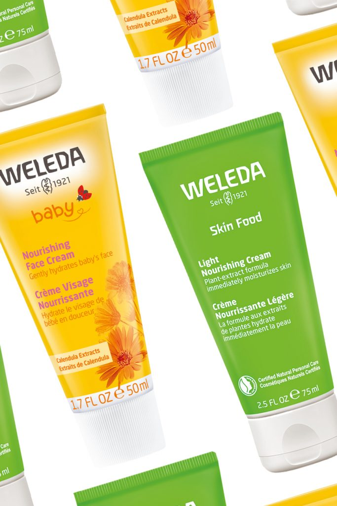 Weleda skin care moisturizer beauty products for teens