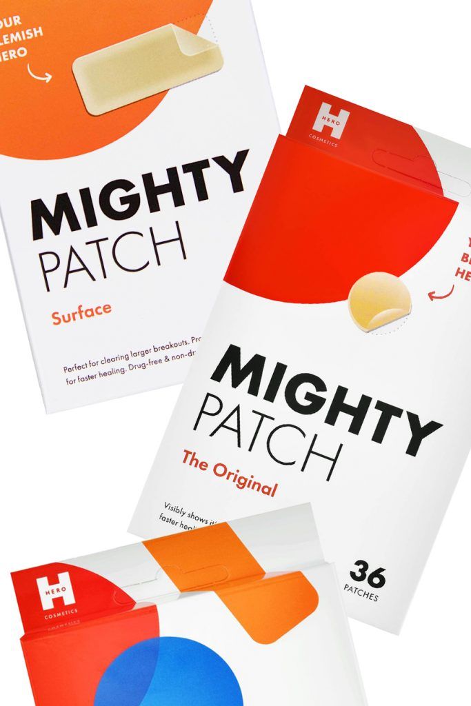 beauty product called the mighty patch acne patches for teens with acne